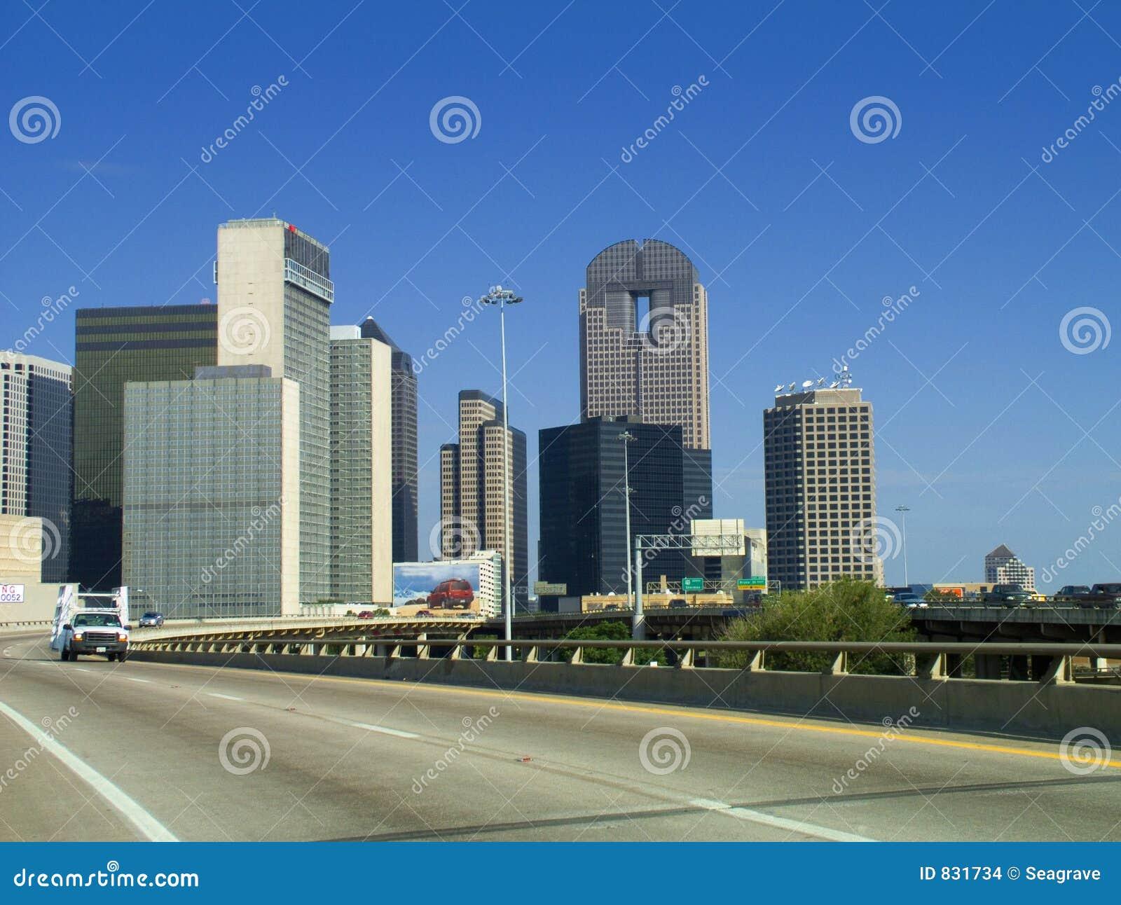 La ville de Dallas.