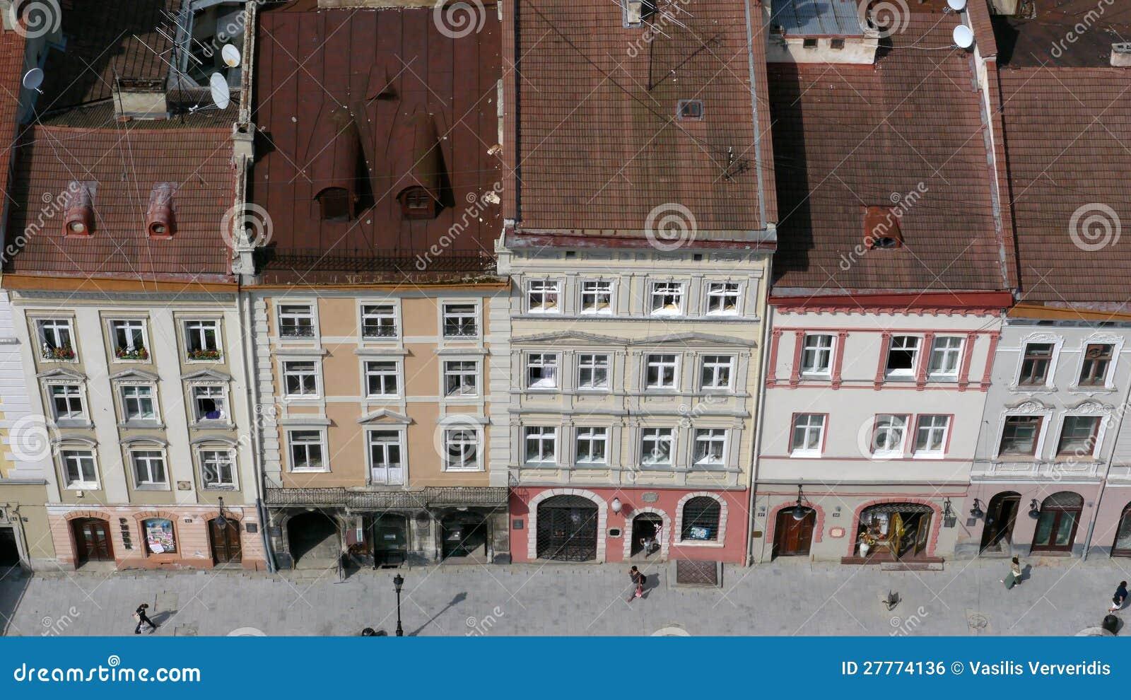 La ville Lviv en Ukraine