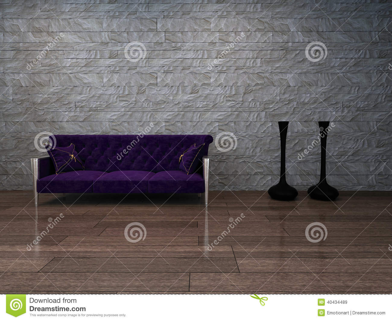la violette baroque de style peut faire pipi contre le mur en pierre illustration stock image. Black Bedroom Furniture Sets. Home Design Ideas