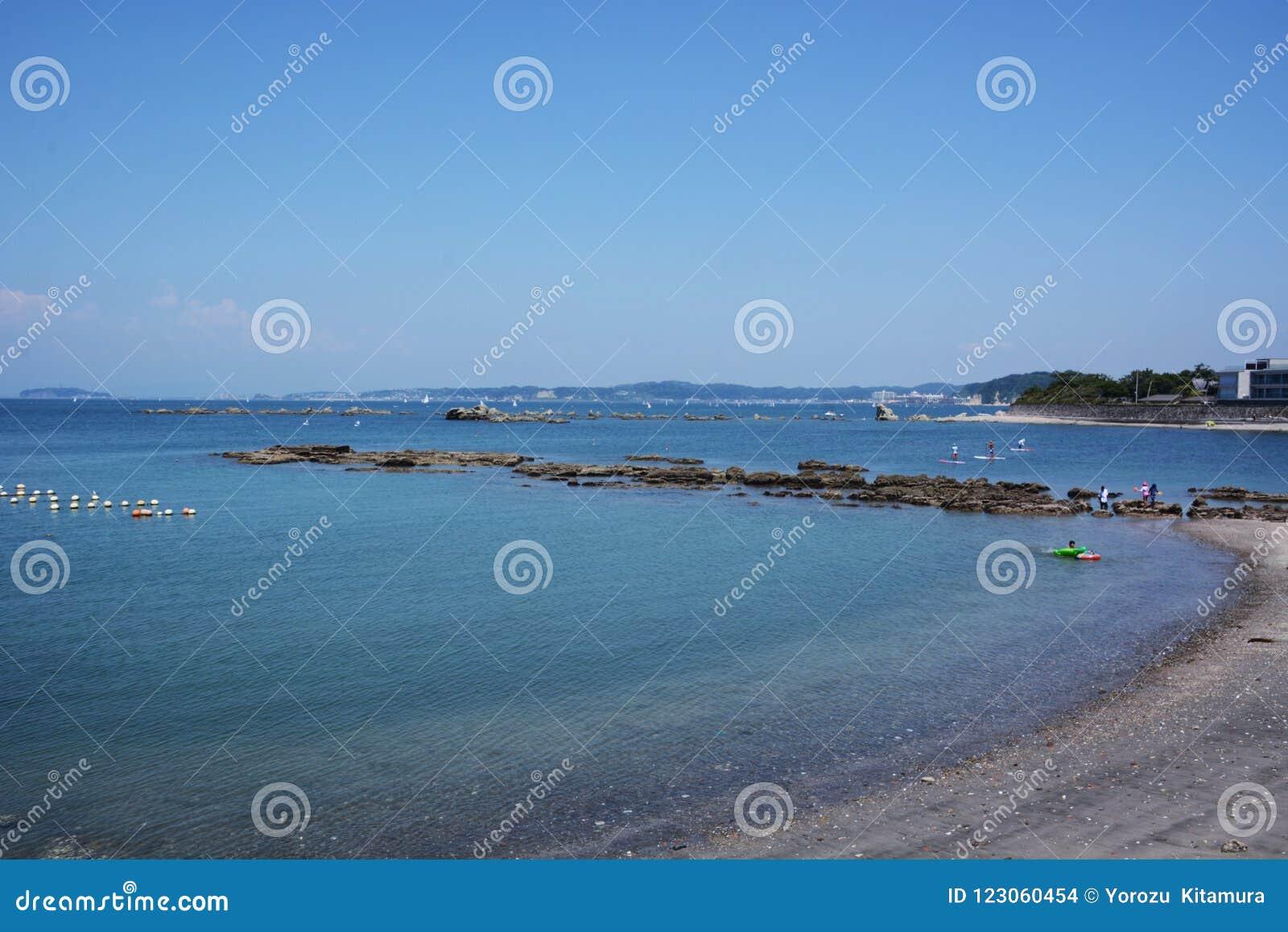 La vista del mar del verano
