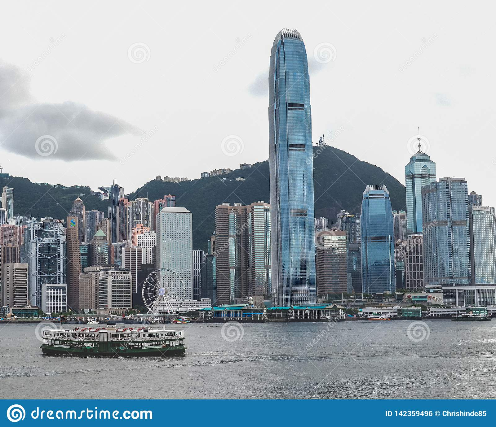 La vista del porto