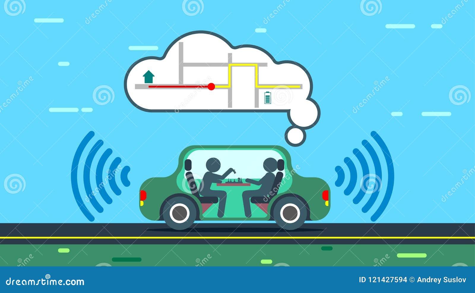 La voiture autonome emploie des cartes de généralistes