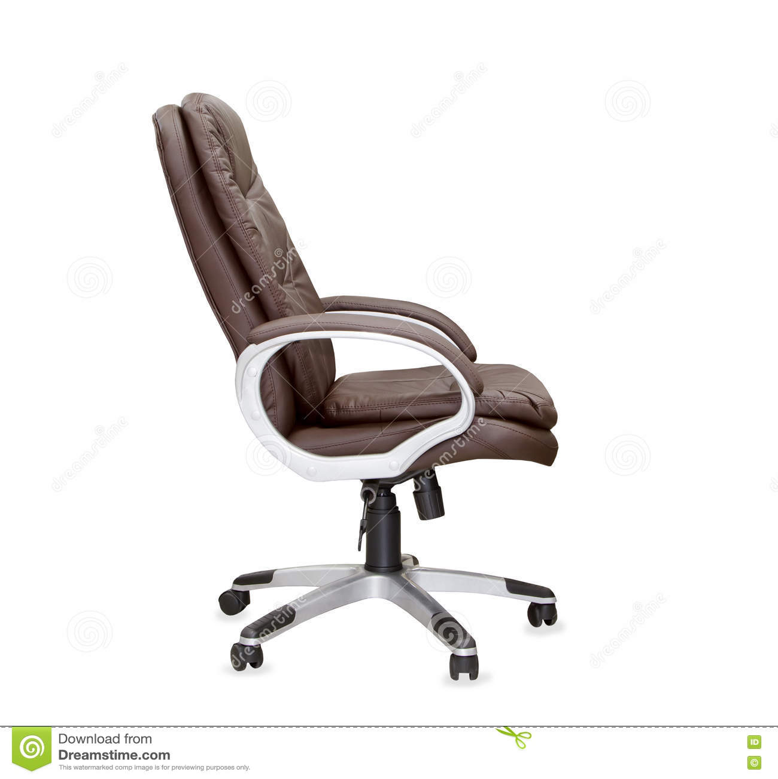 chaise de bureau de profil
