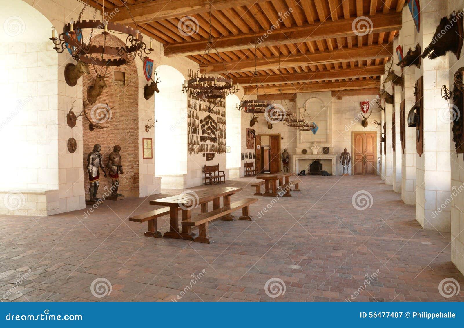 La Yonne, le château pittoresque du saint Fargeau