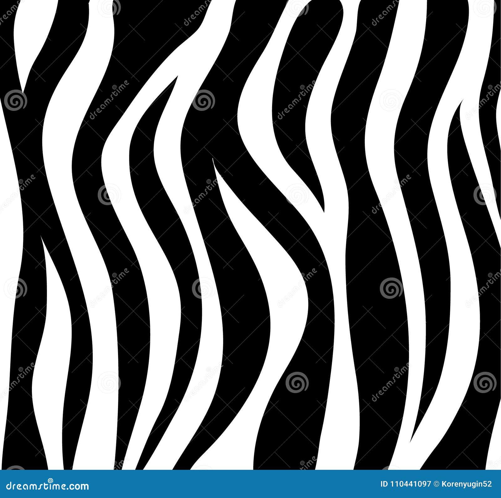La Zebra Barra Il Fondo Astratto In Bianco E Nero Come Pelle Vecto