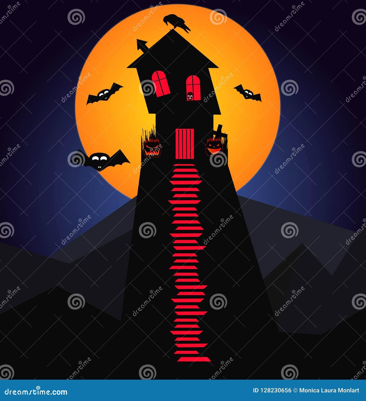 Laat ` s naar de Partij van Dracula gaan ` s Halloween