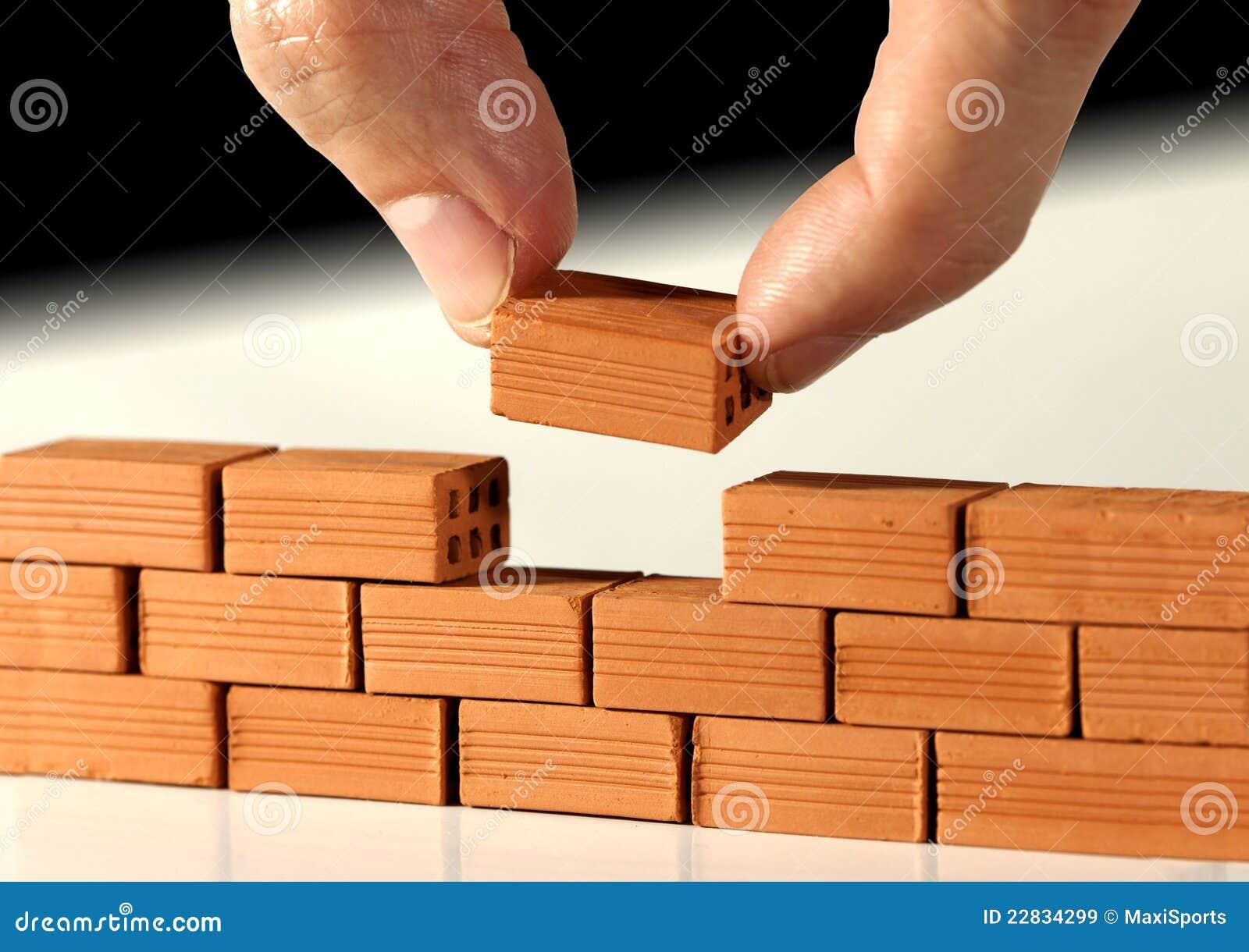 Laatste baksteen op de muur