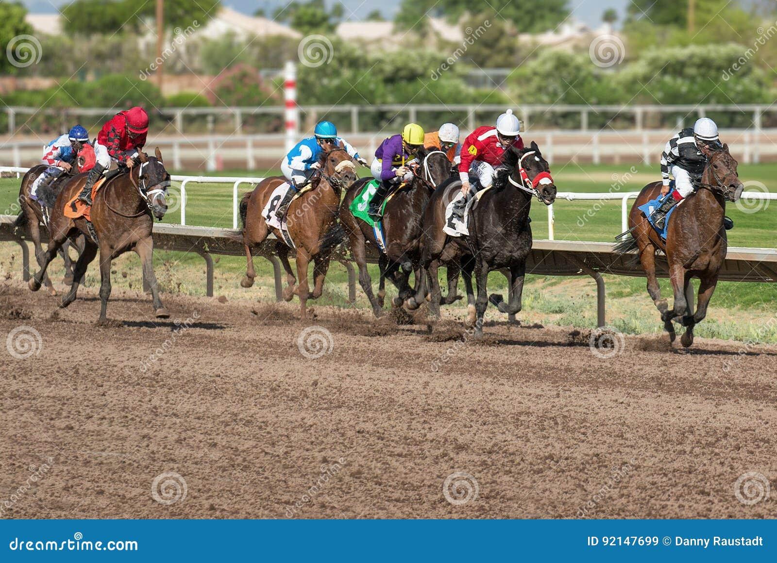 Laatste Paardenkoersen in Arizona tot Daling