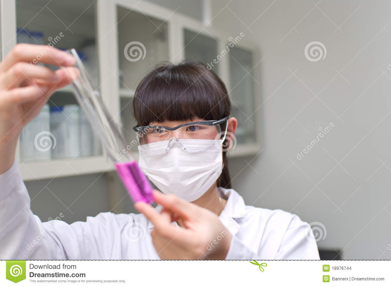 Lab Analyst Stock Images - Image: 18976744
