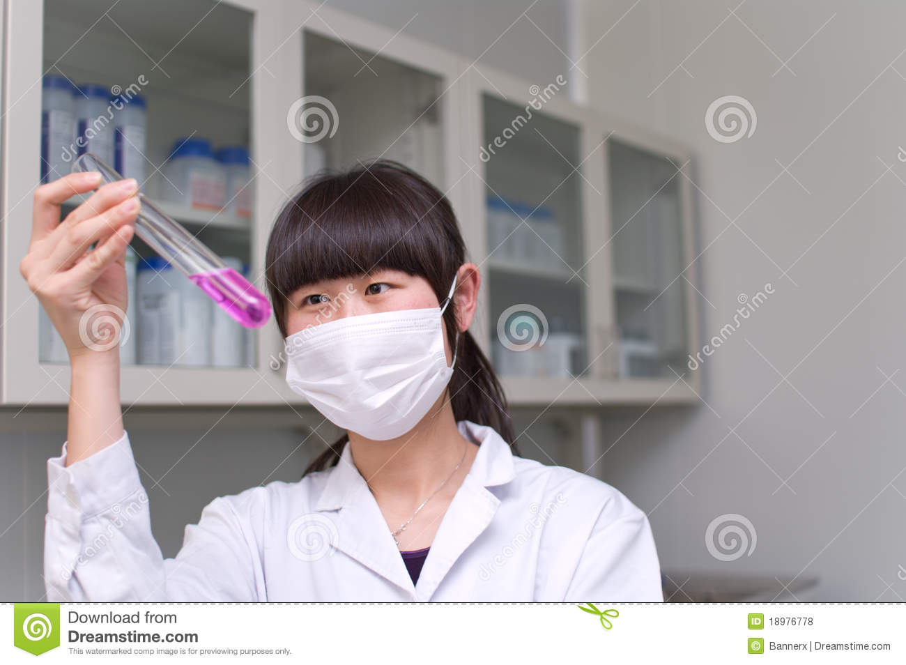 Lab Analyst Royalty Free Stock Images - Image: 18976619