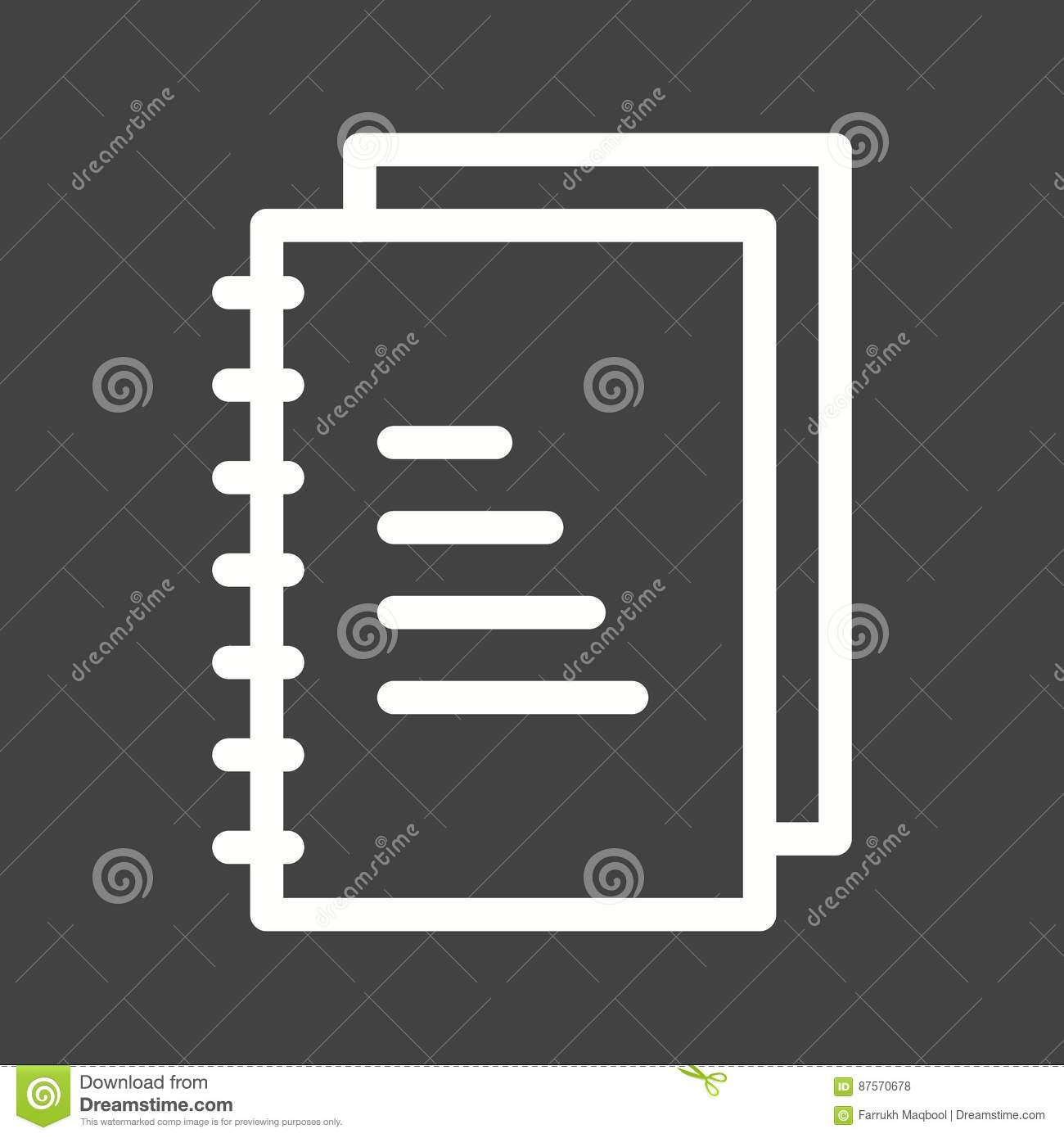 Lab Notes stock vector  Illustration of drawn, design - 87570678