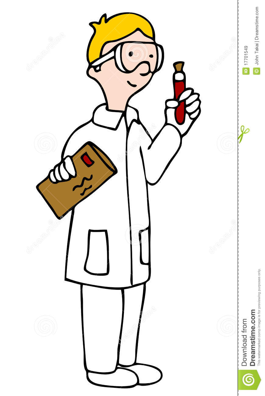 Lab Technician Royalty Free Stock Images - Image: 17701549
