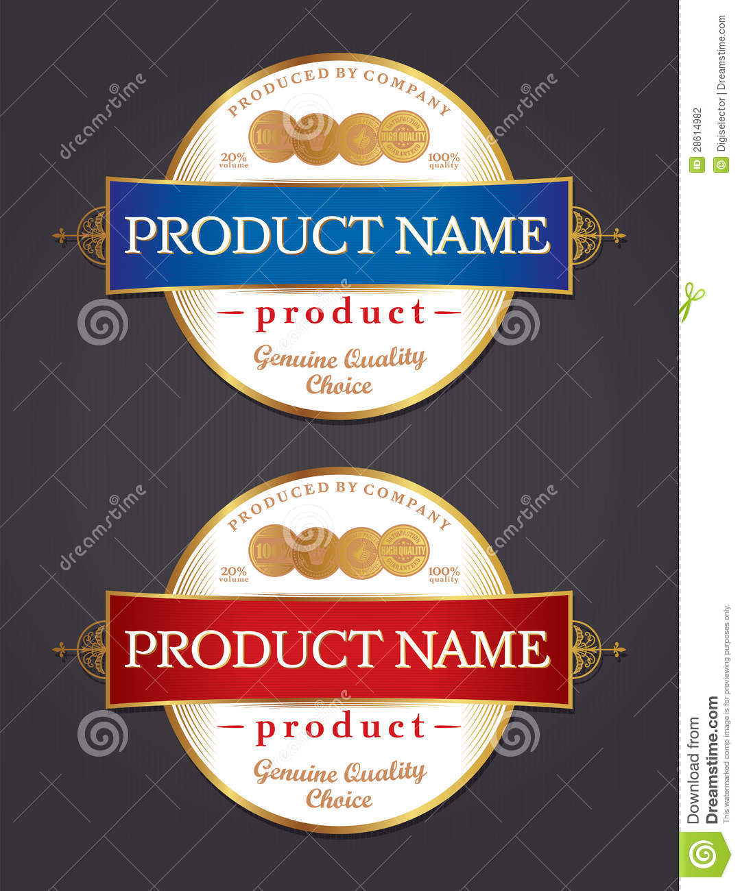 Guaranty quality golden label cartoon vector for Z label templates