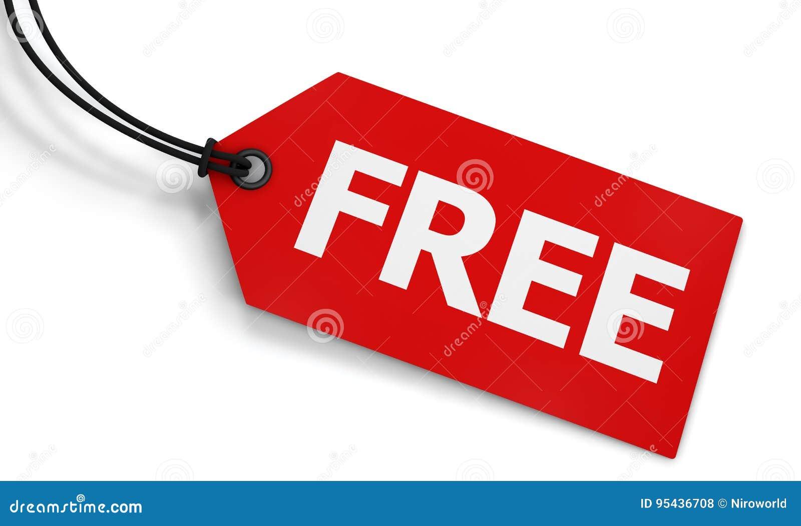 Label gratuit de prix à payer