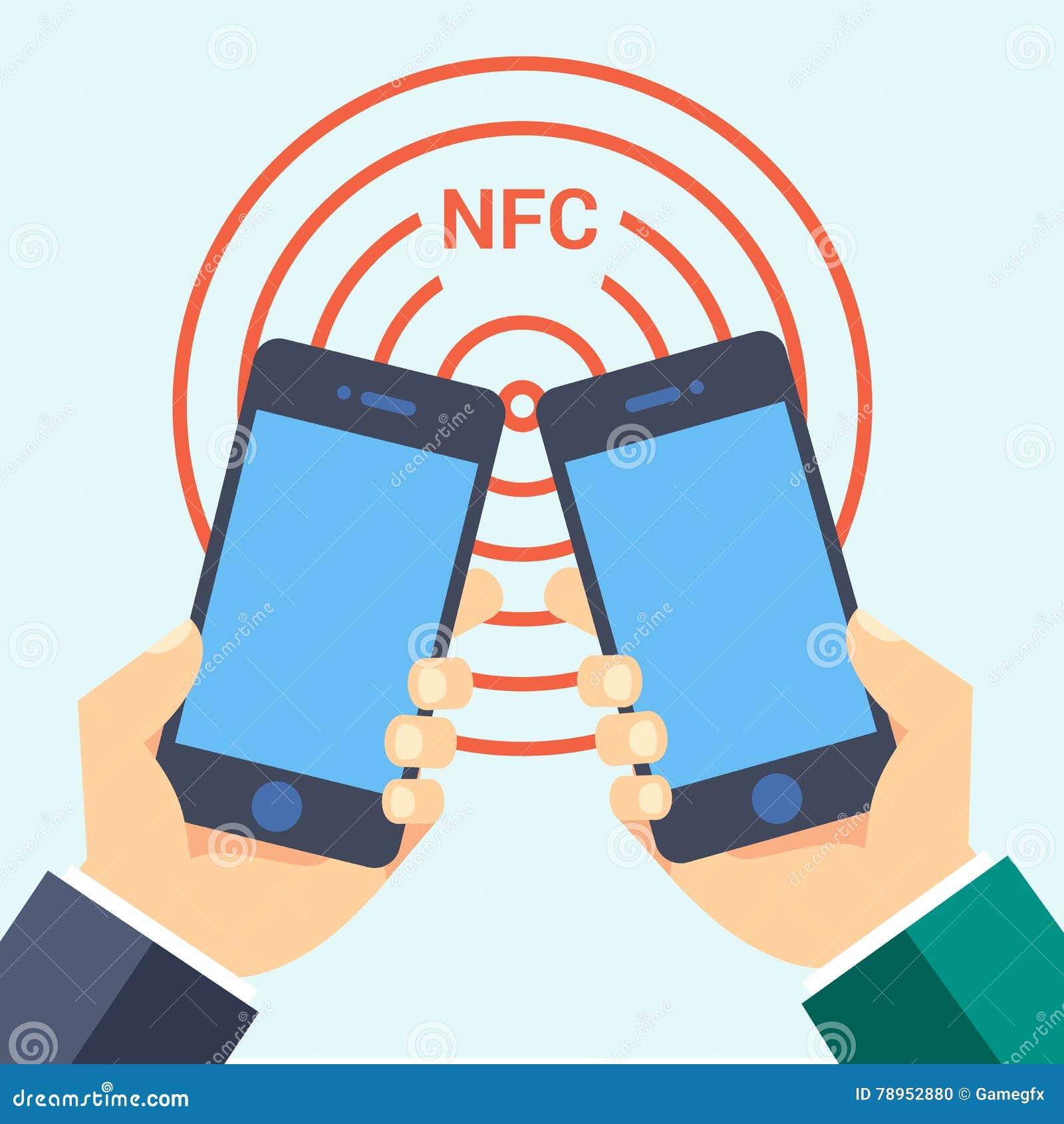 Ensemble De Label Plat Logo Symbole Signe Web Telephone Nfc Technologie Visite Dicone Futee Carte Professionnelle