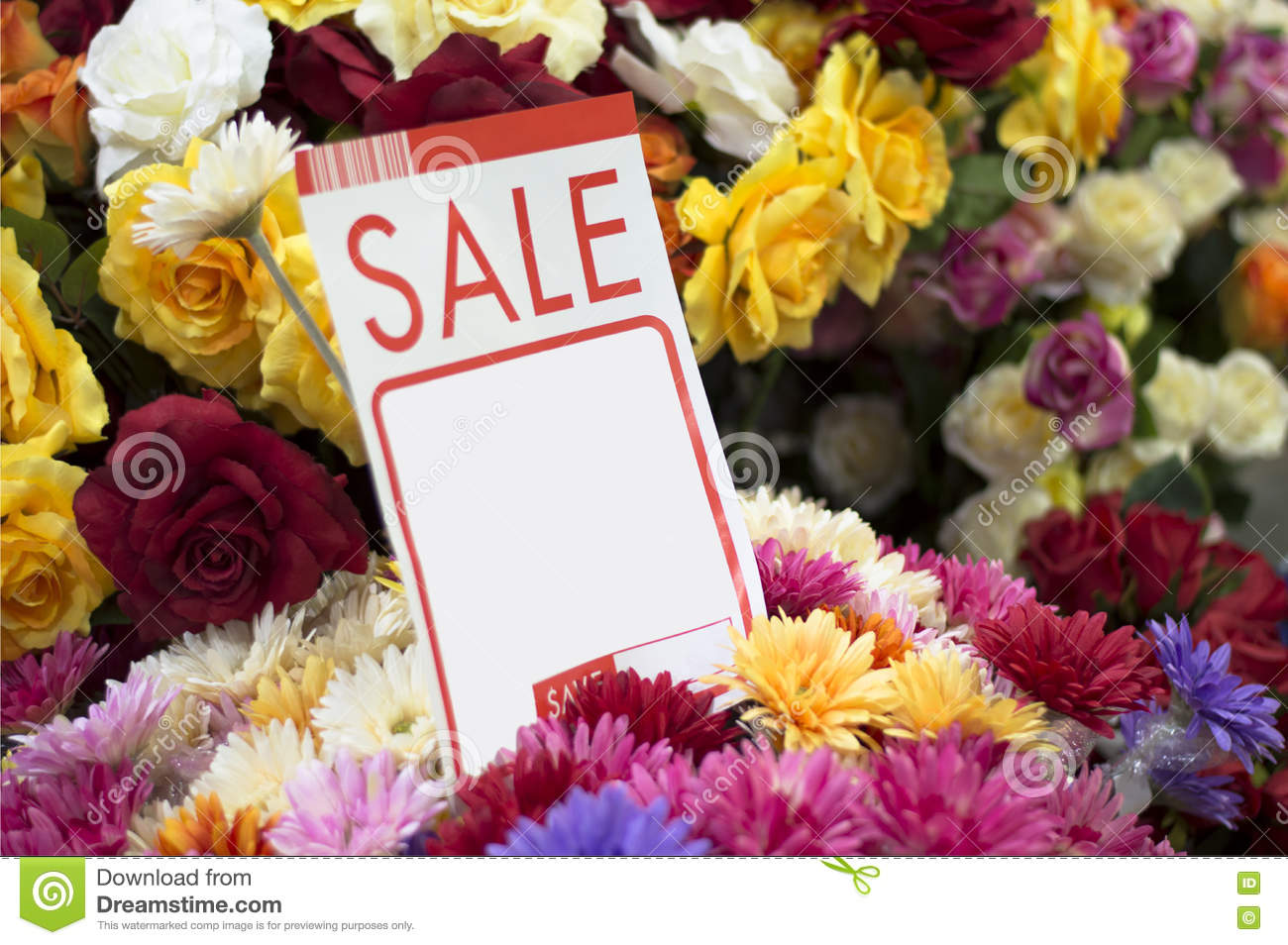 Label, Price, Sale, Flowers, Fake, Plastic Flowers, Vase, Beautiful,  Colorful