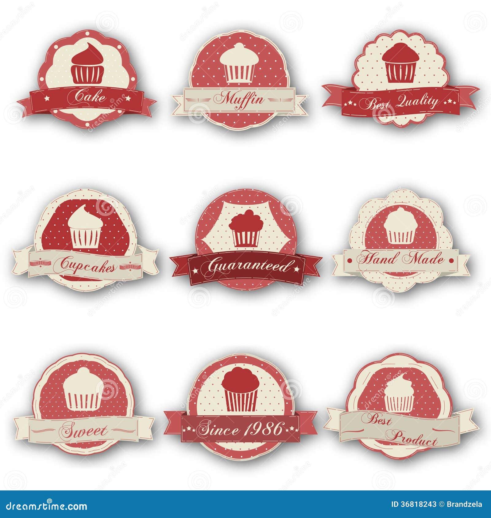 Labels de petit pain