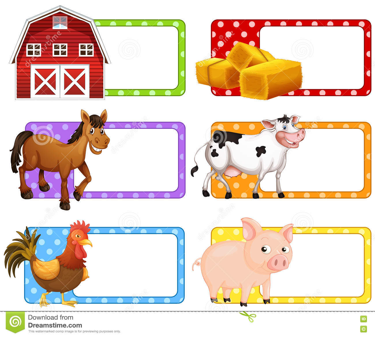 labels with different farm animals stock vector image hen clip art black and white hen clipart sketch