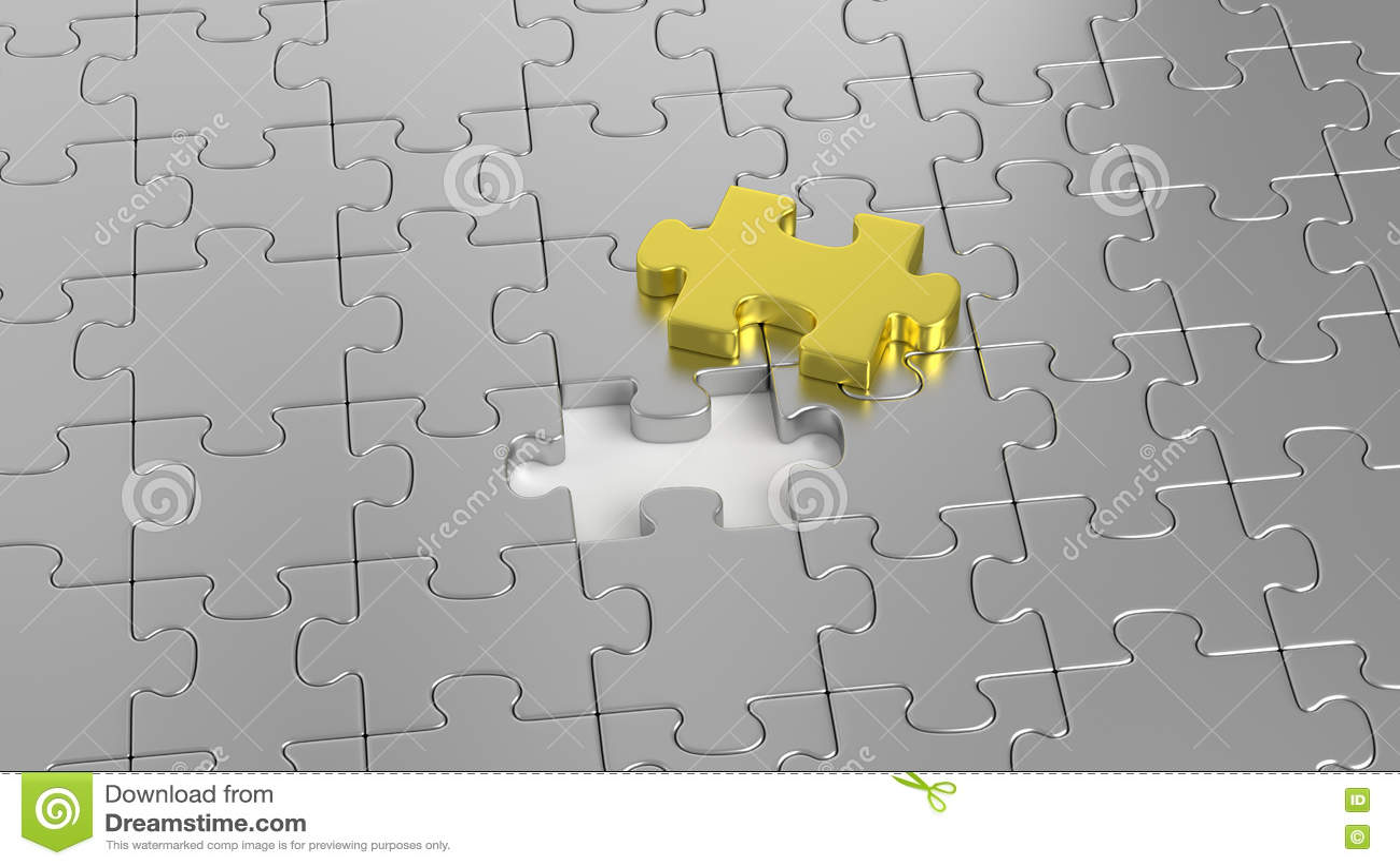 Labirinto di puzzle insieme