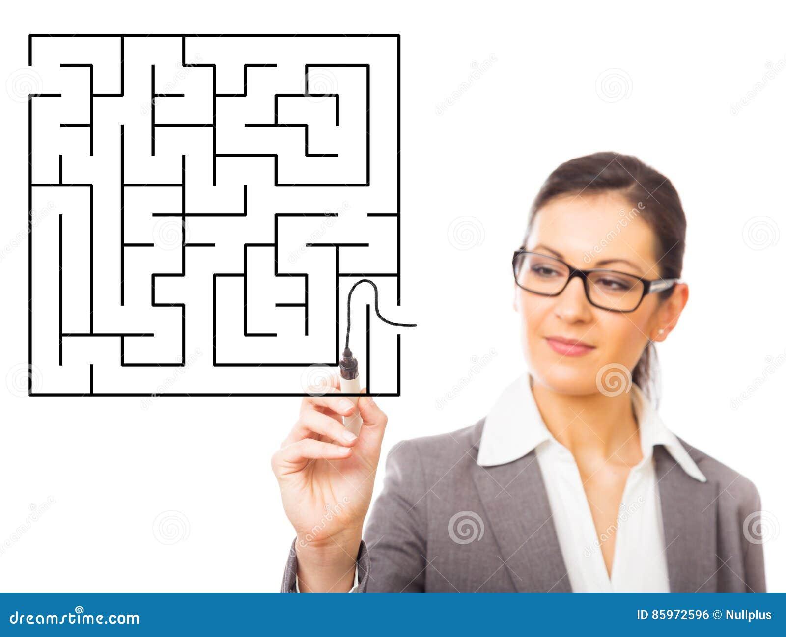 Labirinto do negócio