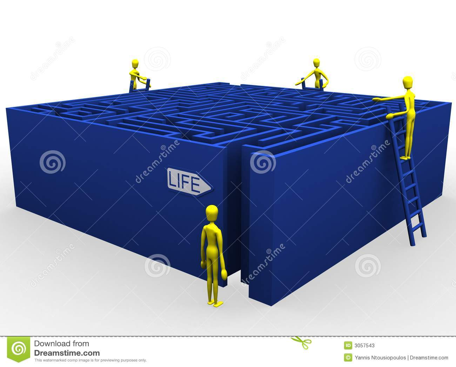 Labirinto e guida di vita