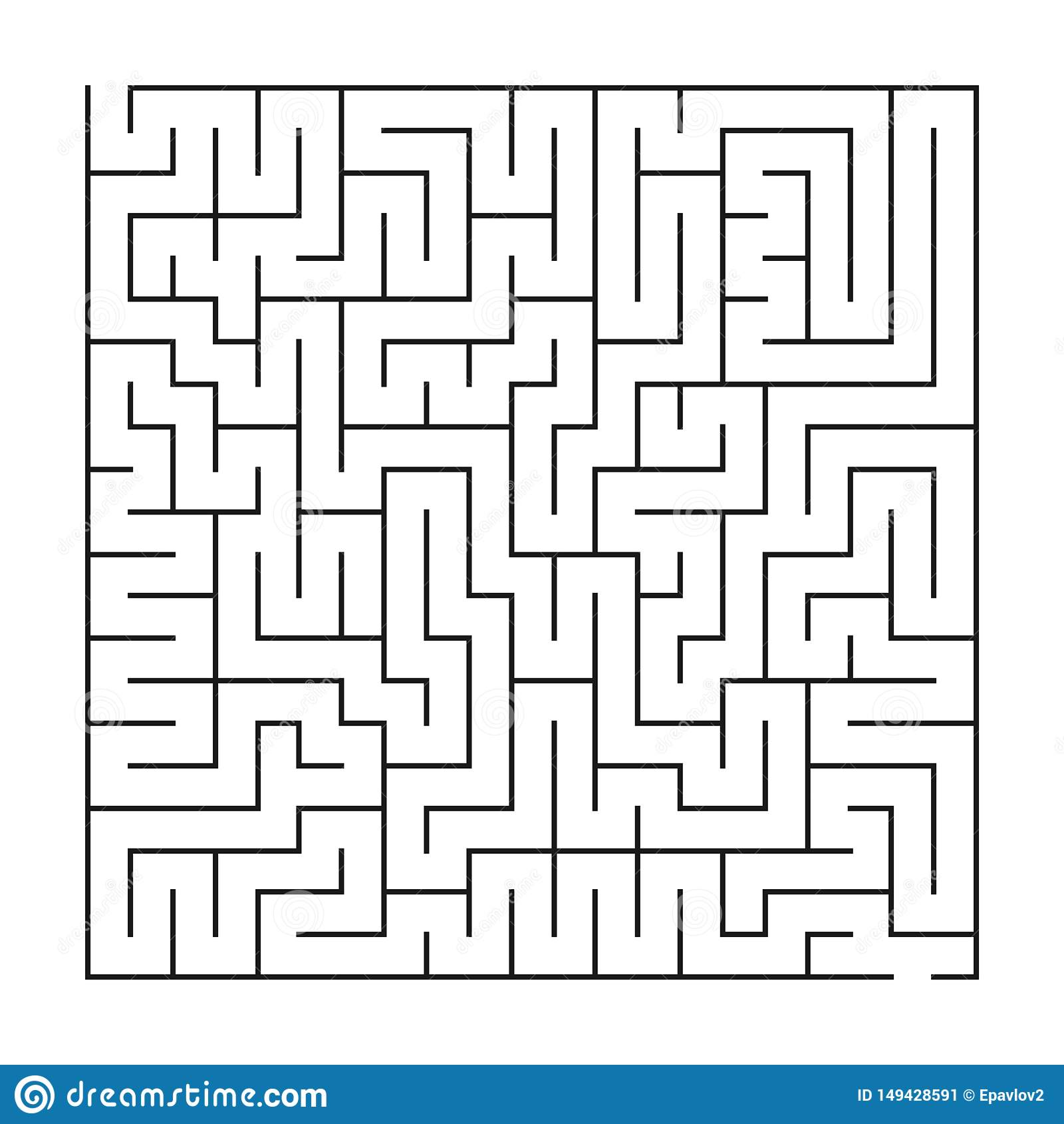 Labirinto/labirinto no fundo branco
