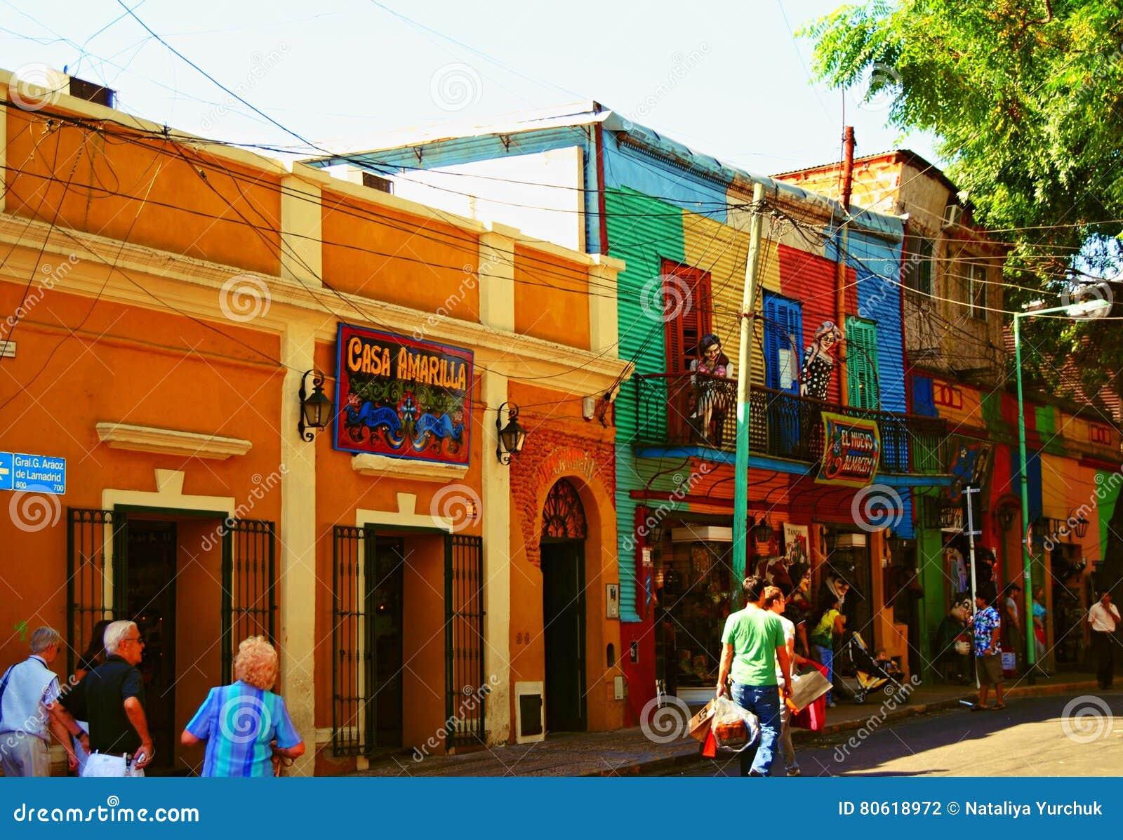 LaBoca, secteur à Buenos Aires