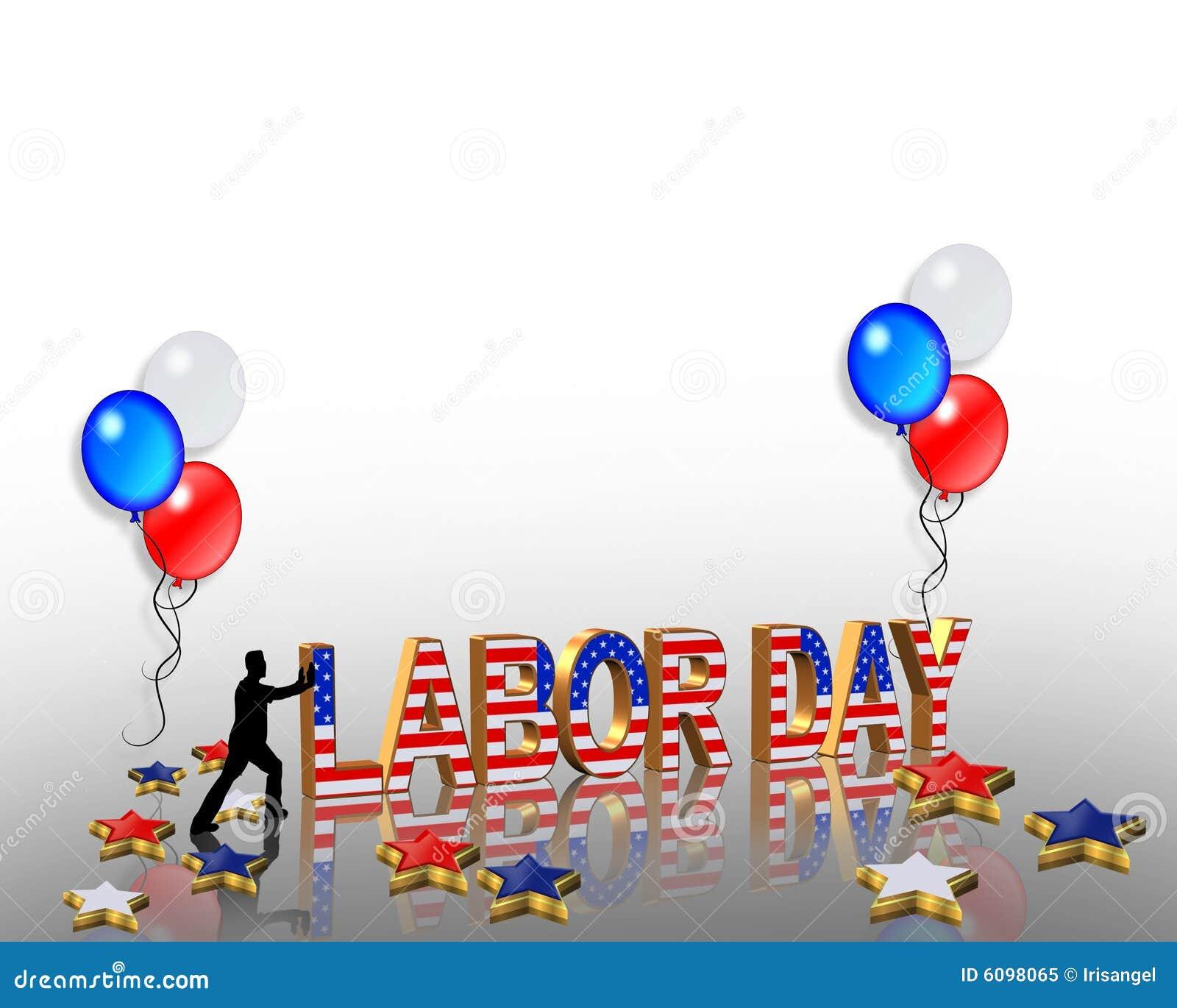 Hd Labor Day Patriotic Border  Labor Day Picnic Clipart