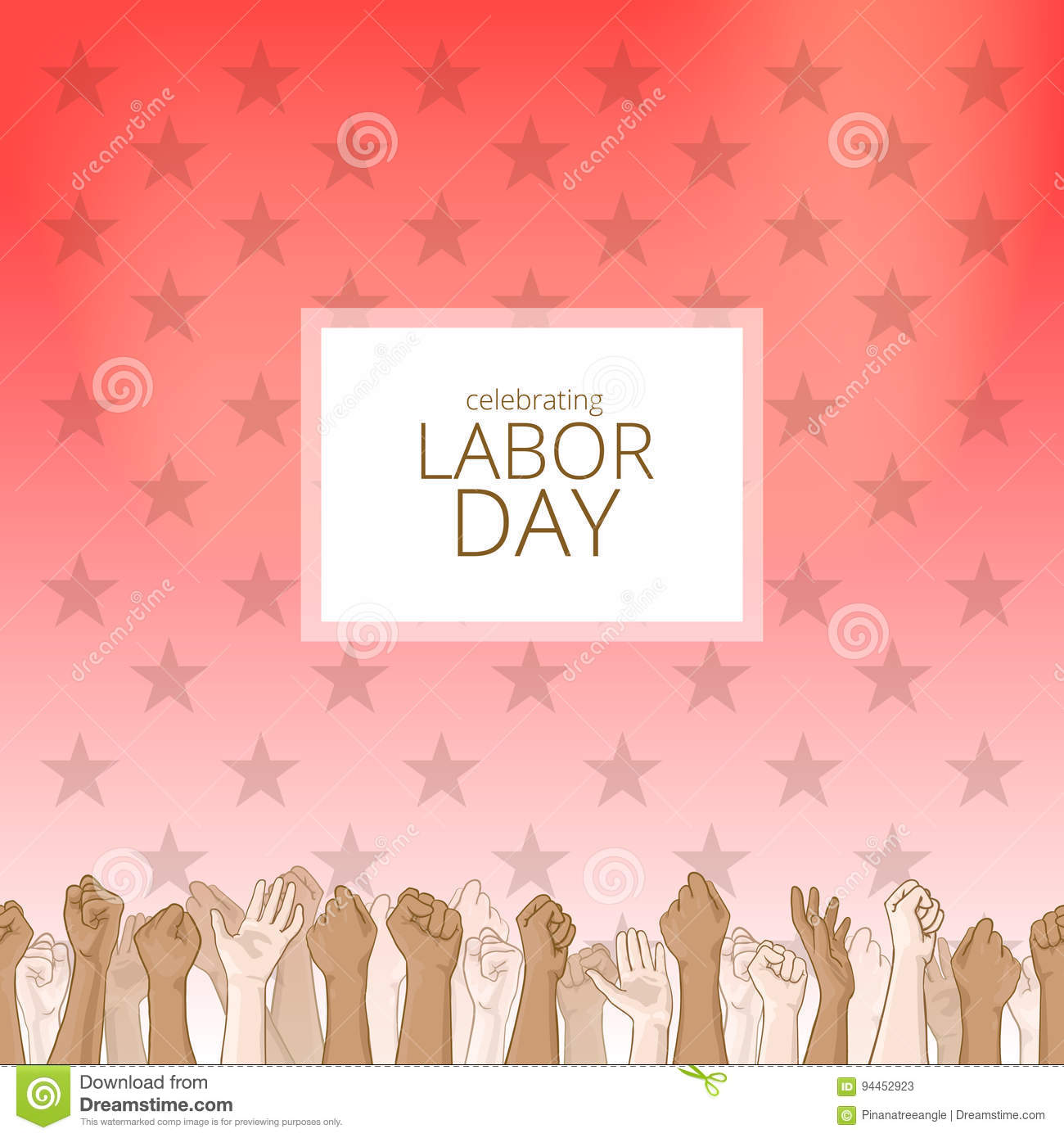 Labor Day Background Stock Illustration Illustration Of Border