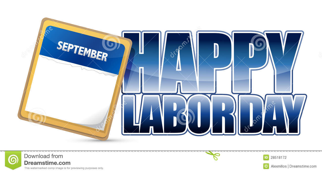 Calendar Labor Day : Labor day calendar stock illustration image of celebrate