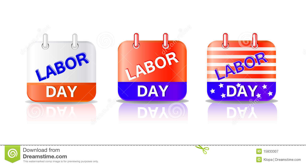 Calendar Labor Day : Labor day calendar page royalty free stock photography