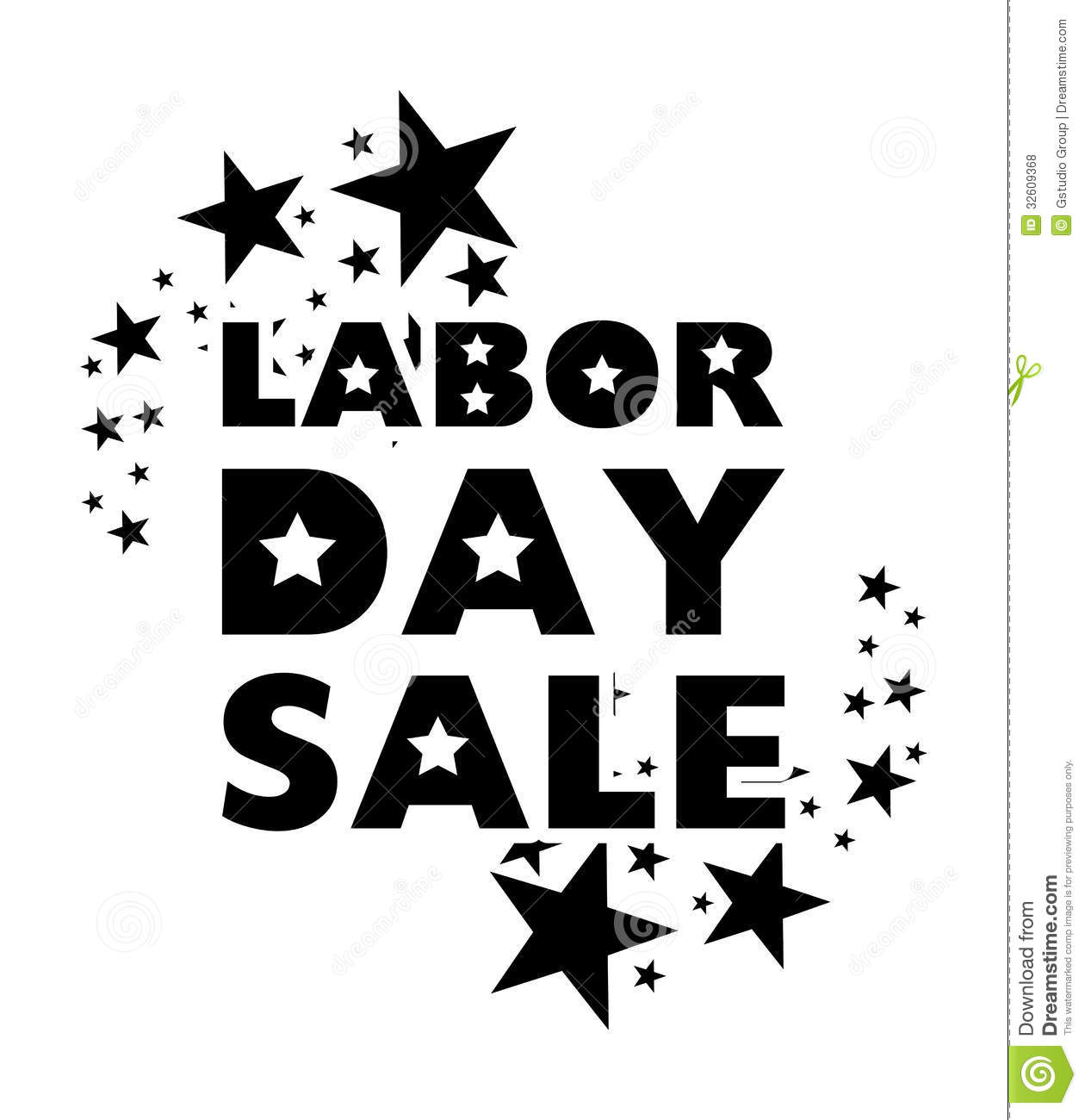 Labor Day Sale: Labor Day Sale Royalty Free Stock Photos
