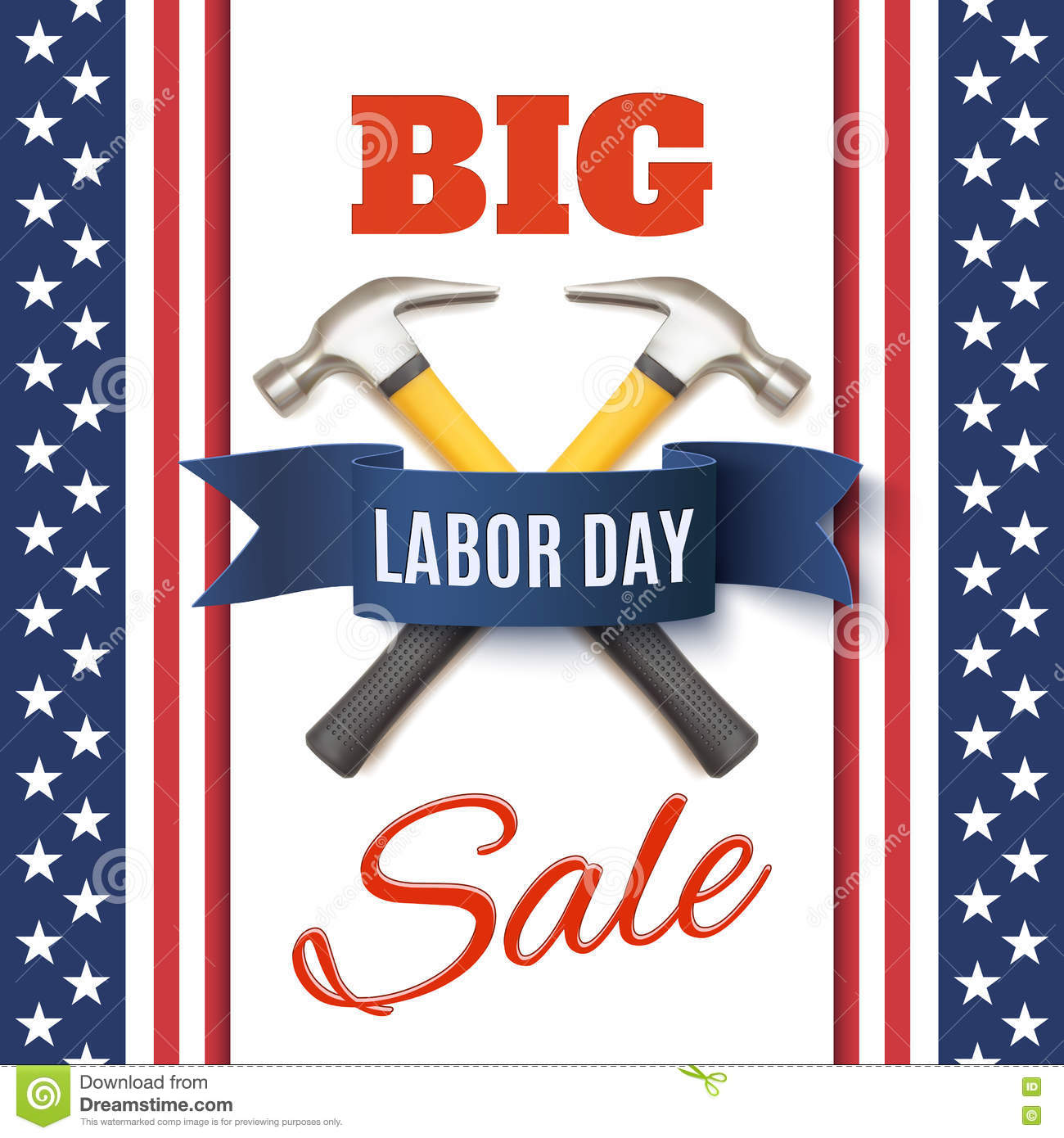 Labor Day Flyer Template Vector Image 58176969 – Labour Day Flyer Template