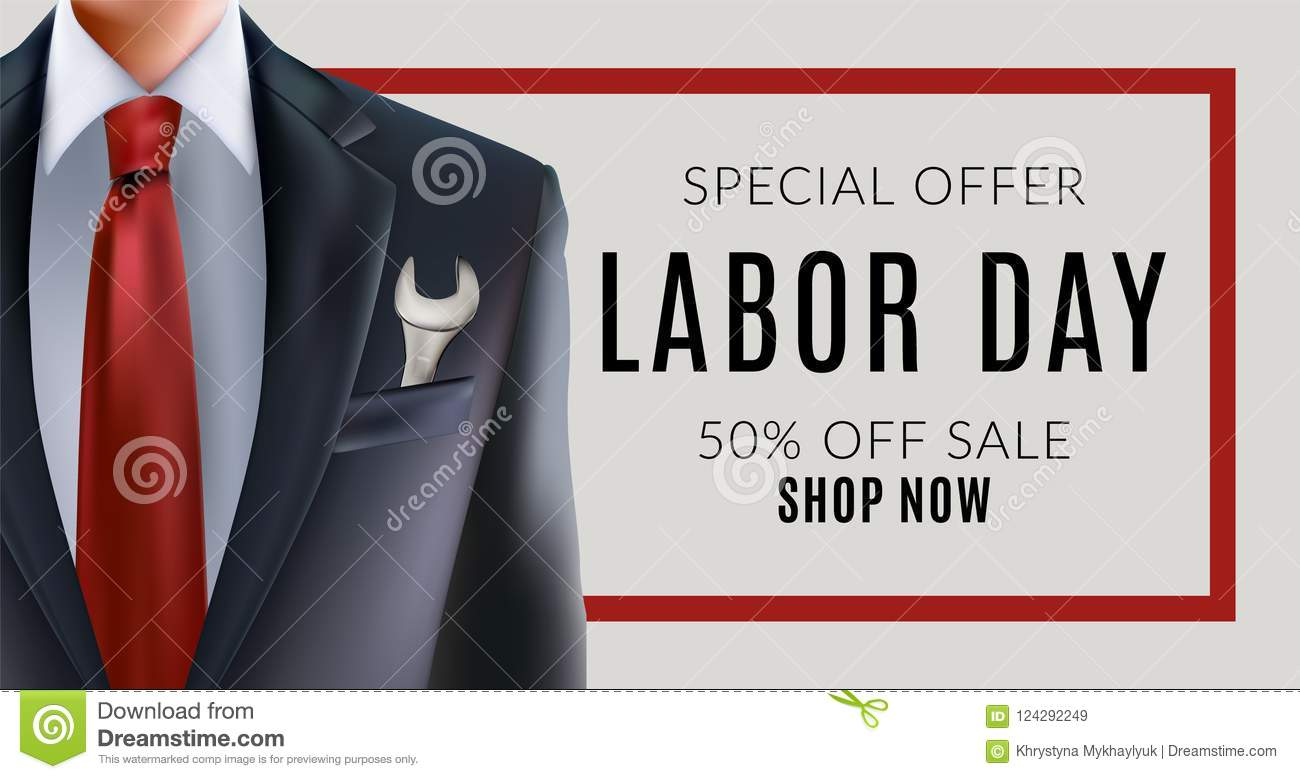 2019 authentic designer fashion best cheap Labor day sale stock vector. Illustration of logo, banner ...