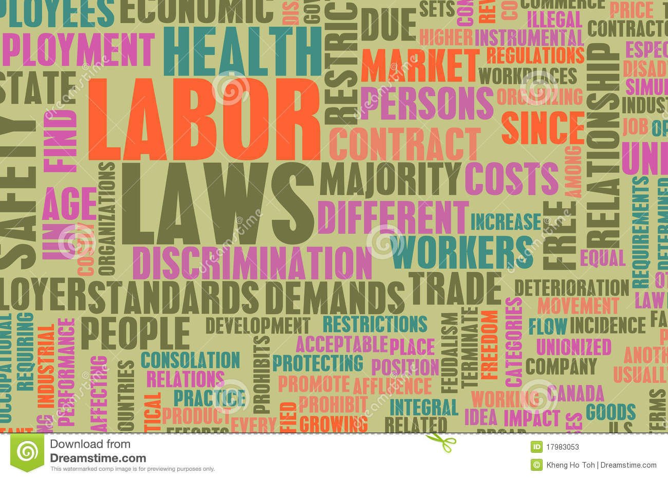 Labor laws stock photos image 17983053