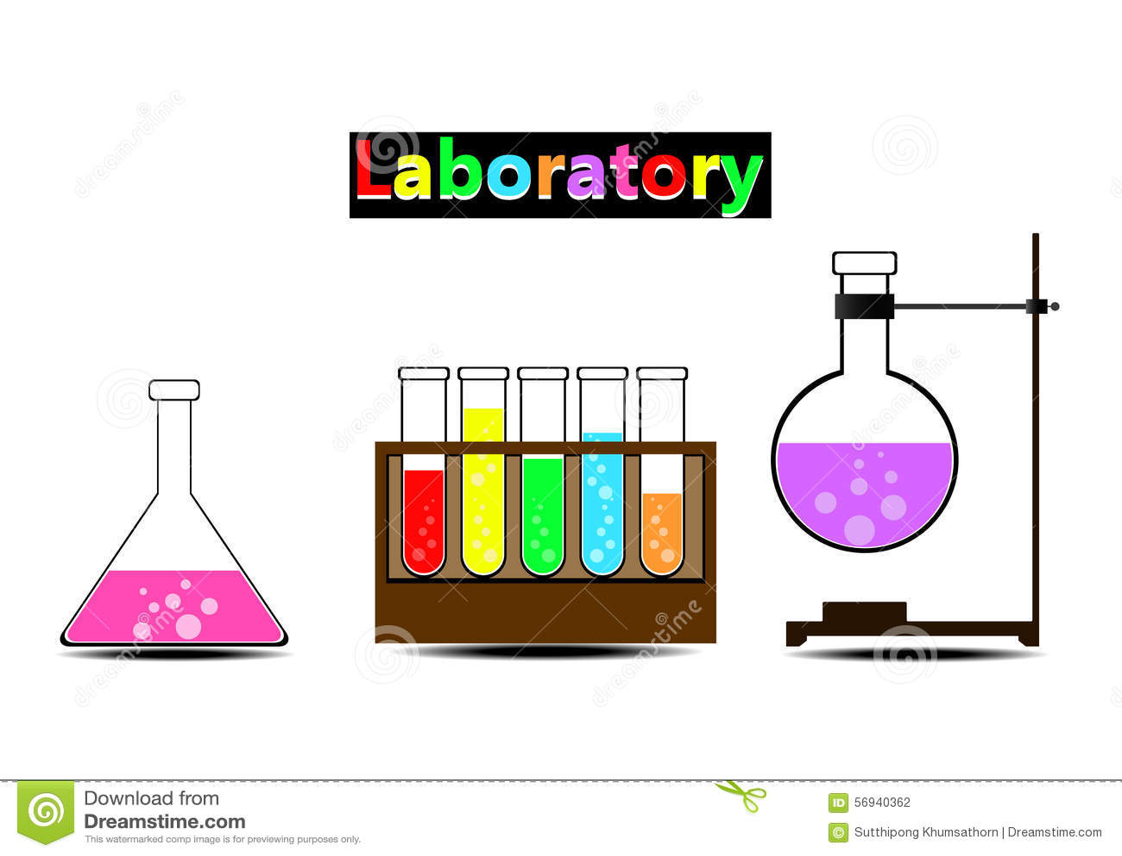 Laboratorio colorido