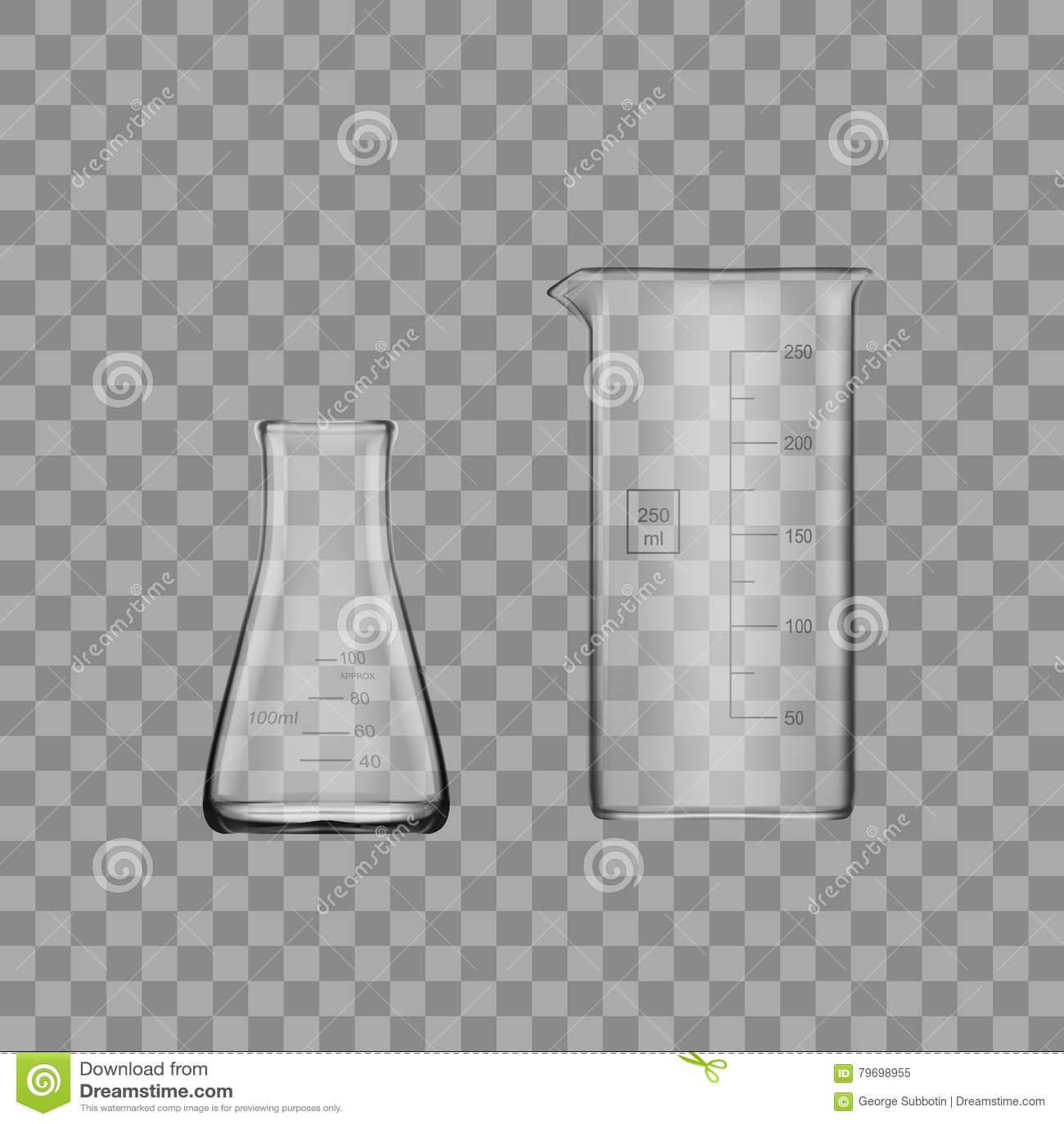 Laboratoriumglasföremål eller dryckeskärl för två kemikalie Tom klar provrör för Glass utrustning