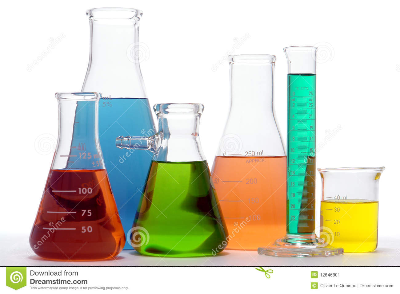 Laboratory Equipment In Science Research Lab Stock Image - Image ...