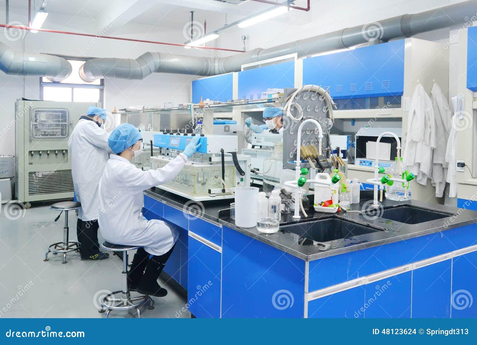 Study on chemistry center