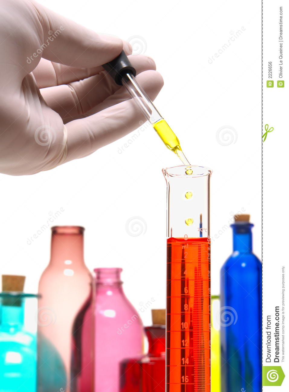 Laboratory Experiment In Science Research Lab Royalty Free Stock Image ...