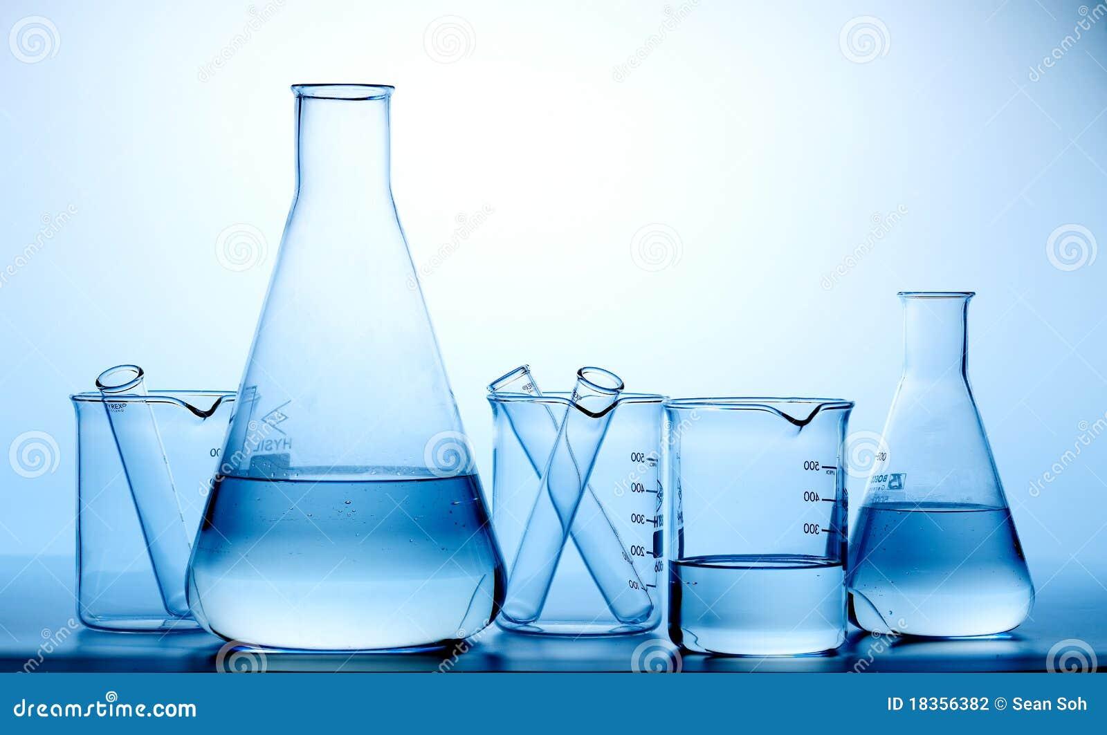 laboratory flasks  bottle stock photography