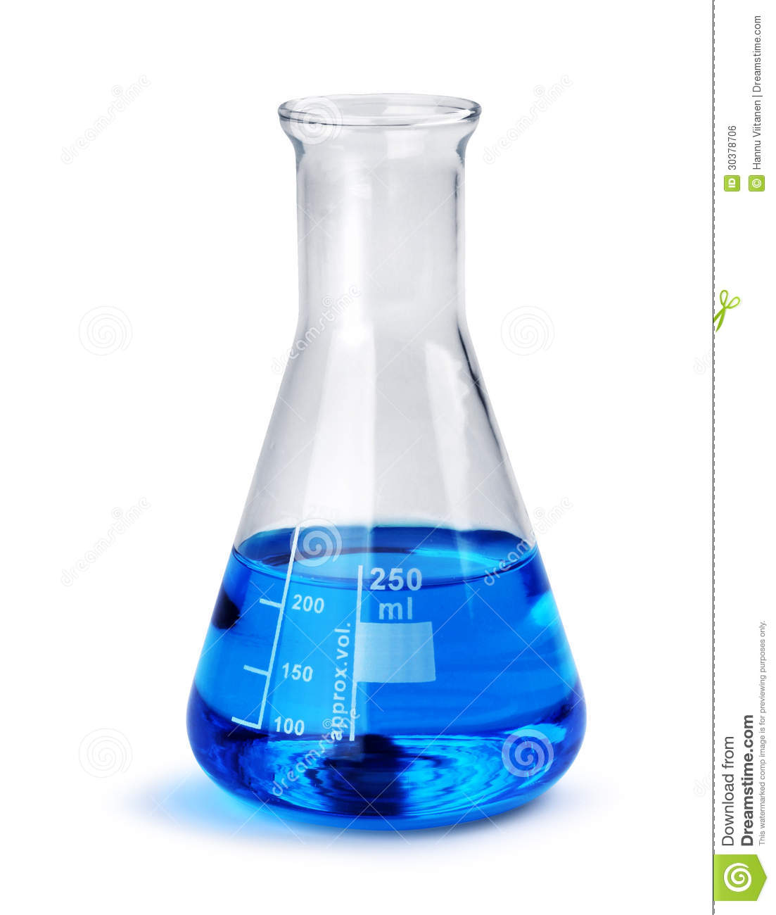 Blue Flask Glass