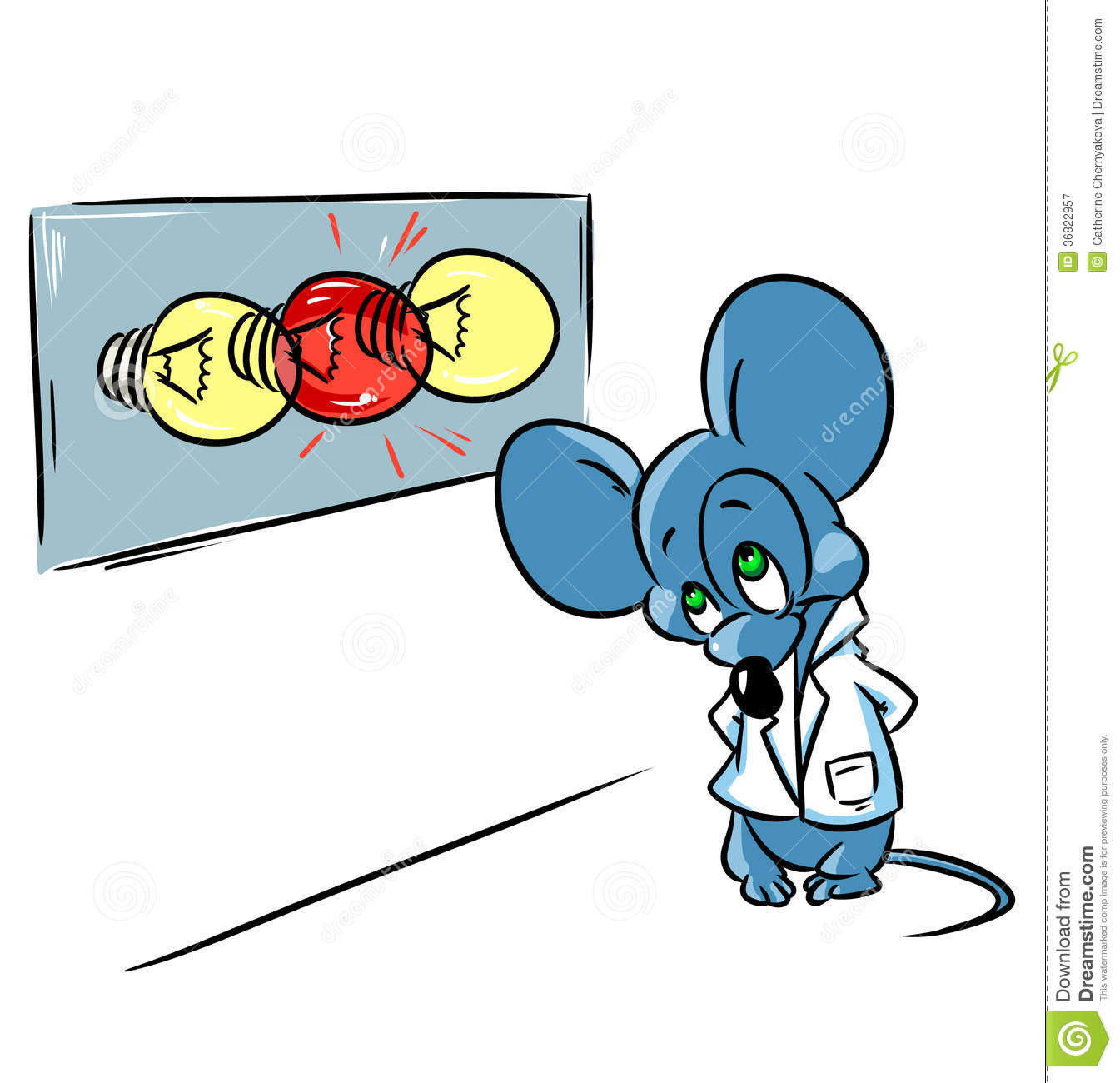 Royalty Free Stock Photography: Laboratory mouse ...