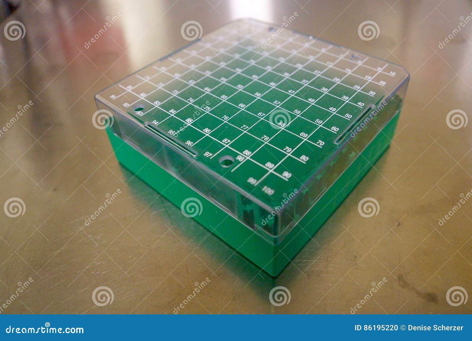 Laboratory Sample Box Stock Photo - Image: 86195220