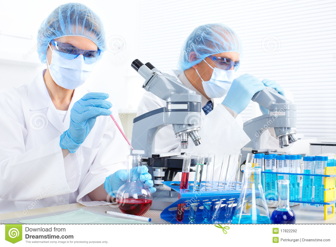 Laboratory. Science Team Stock Photography - Image: 17822292