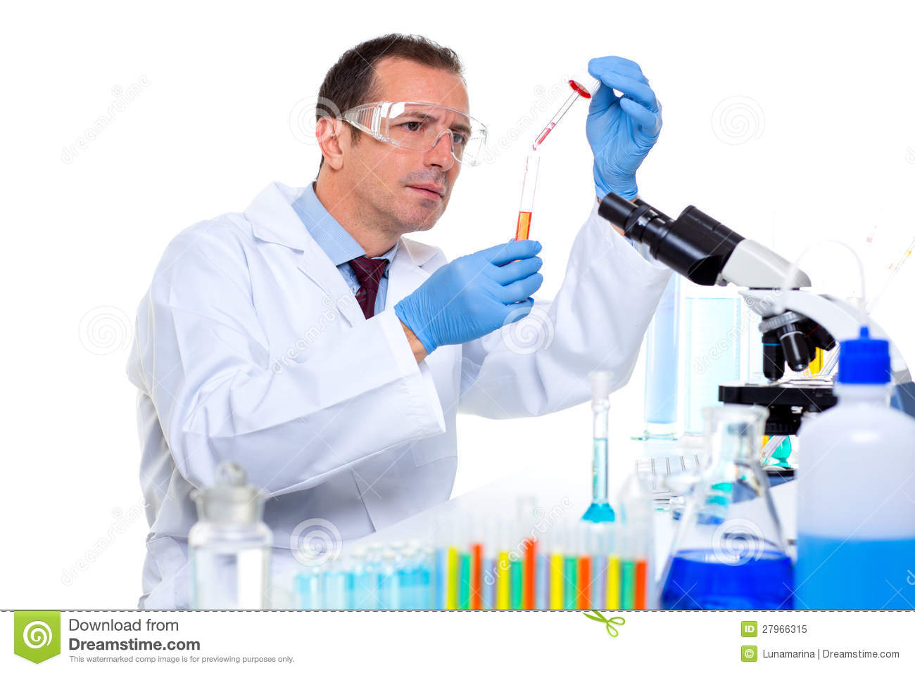 laboratory scientist working at lab with test tubes student writing clipart black and white Student Writing Clip Art Black and White