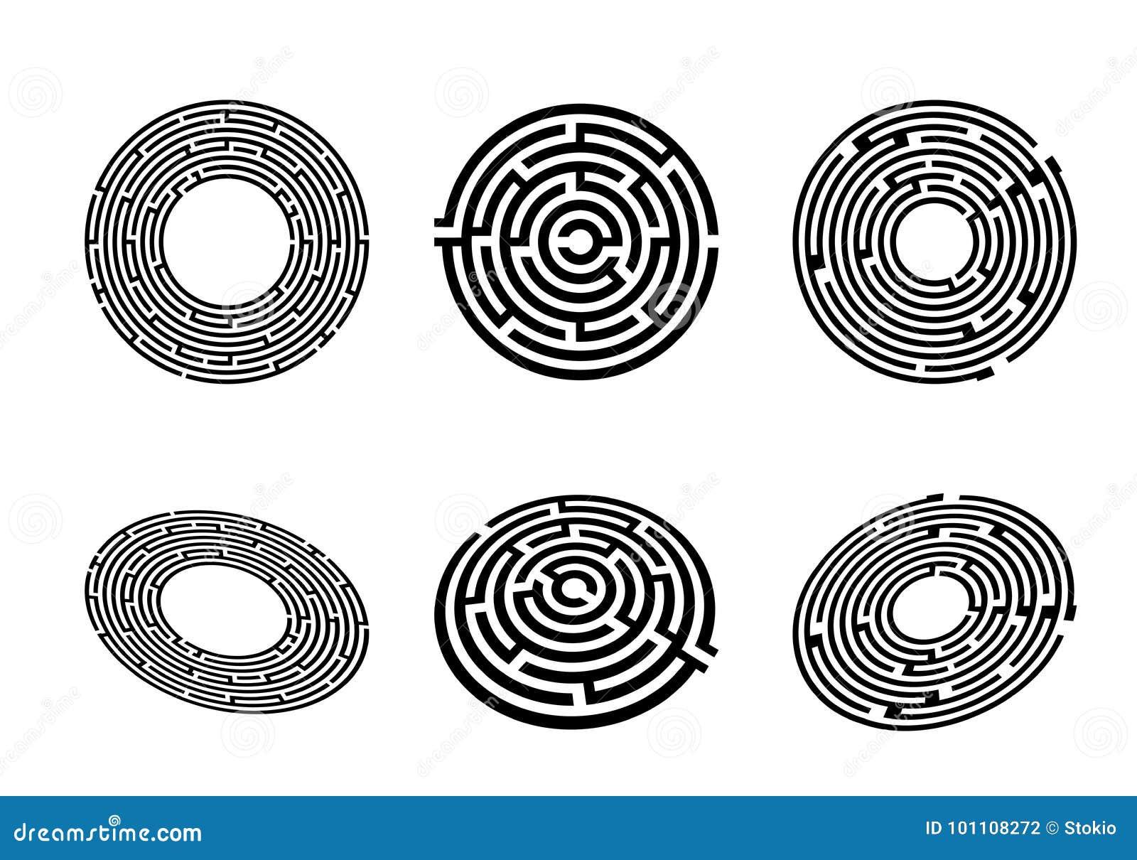 Labyrint hoogste mening en perspectief