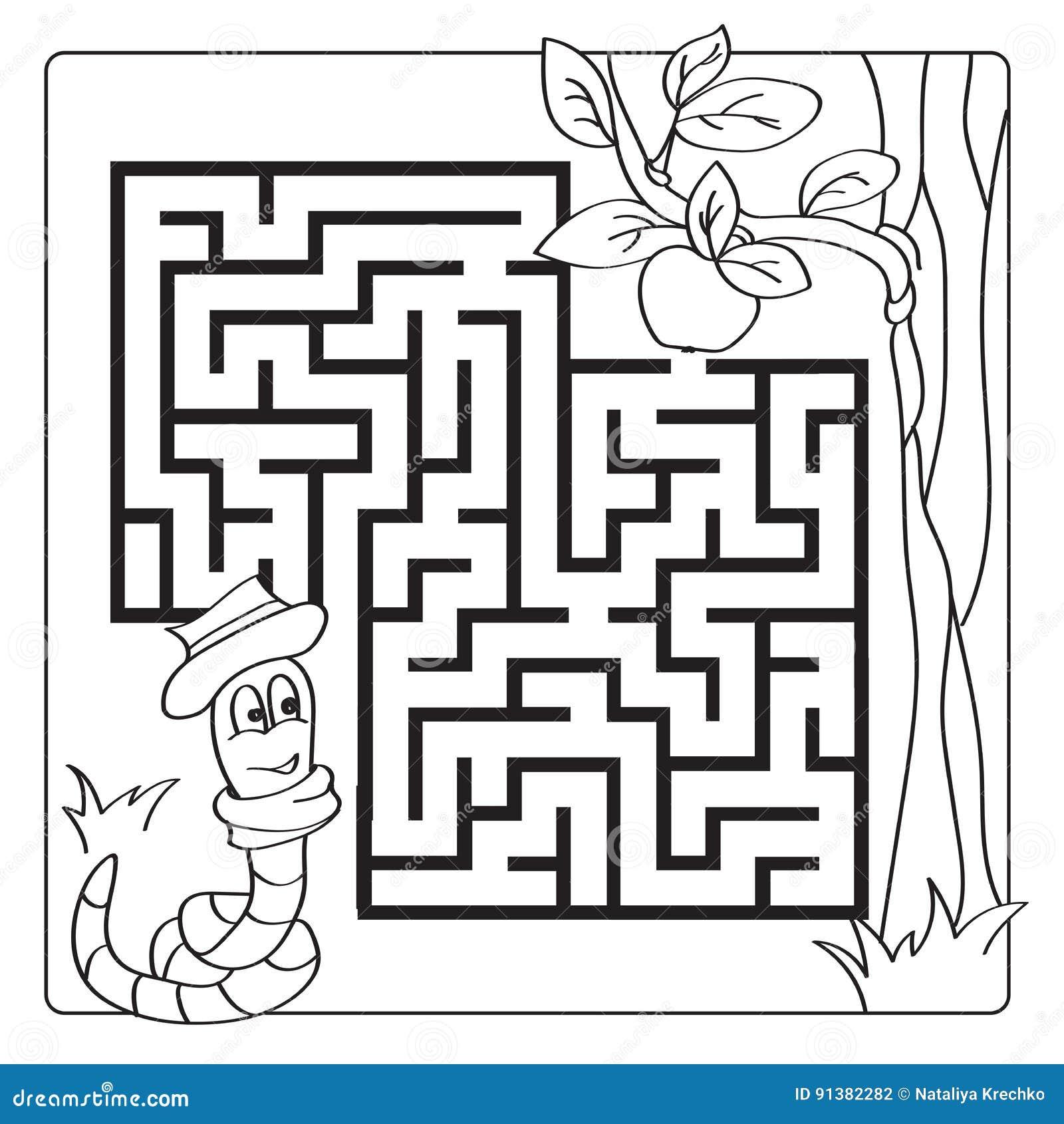 Labyrinth Labyrinth Für Kinder Eintrag Und Ausgang