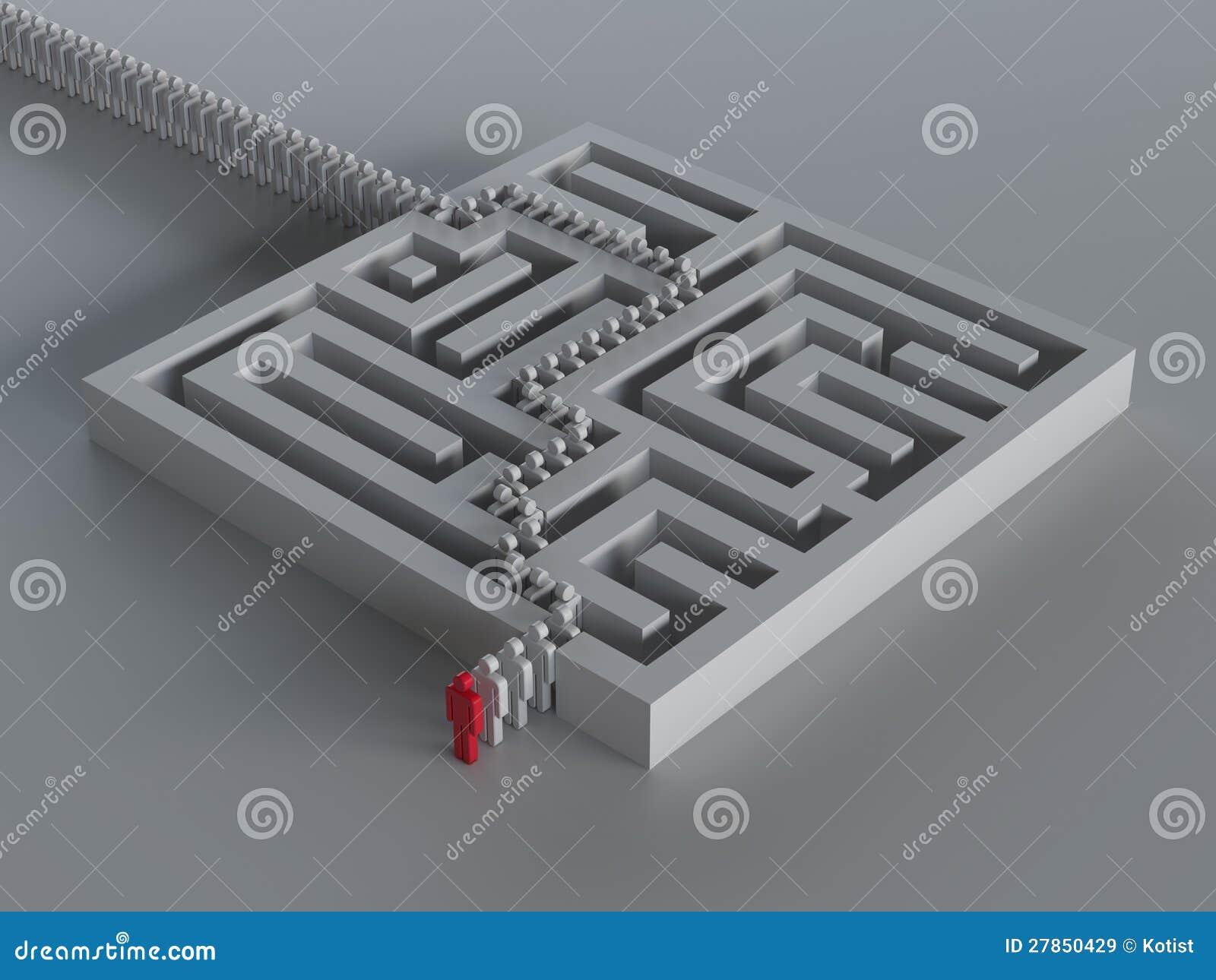 Labyrinth mit Führung