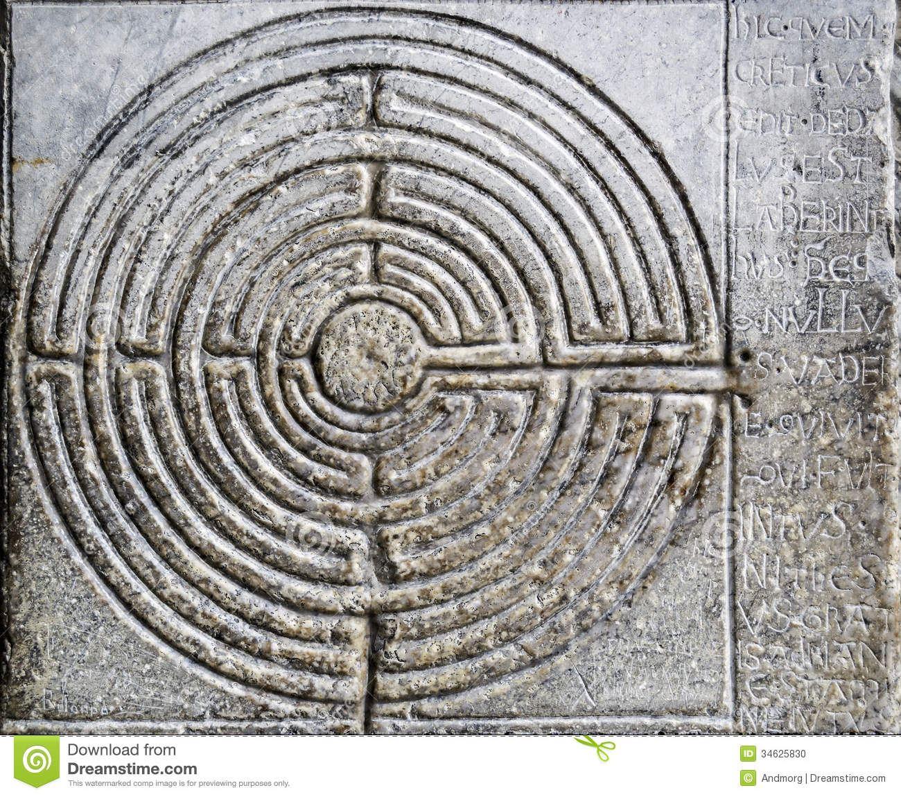 Labyrinth Stock Photo Image 34625830